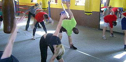 BOXING & CROSSING, kondicionáló és erőnléti edzések