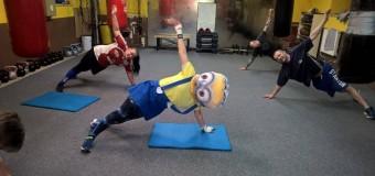 Pillanatképek a Farsangi edzésről…